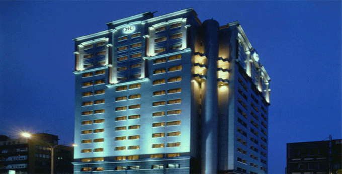 台北三德大饭店房间室内图、外观图