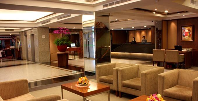 台北庆泰大饭店房间室内图、外观图