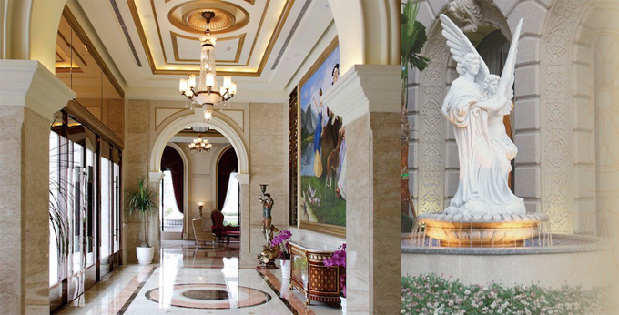 台北首都大饭店房间室内图、外观图