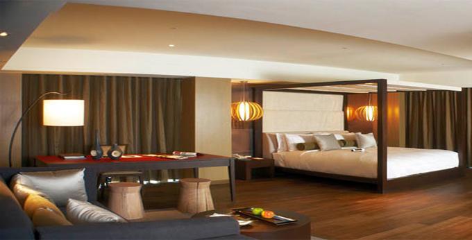 台北丽禧温泉酒店房间室内图、外观图