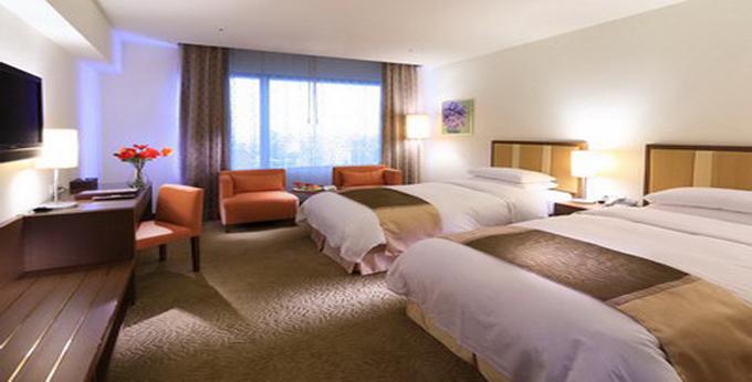台北花园大酒店房间室内图、外观图