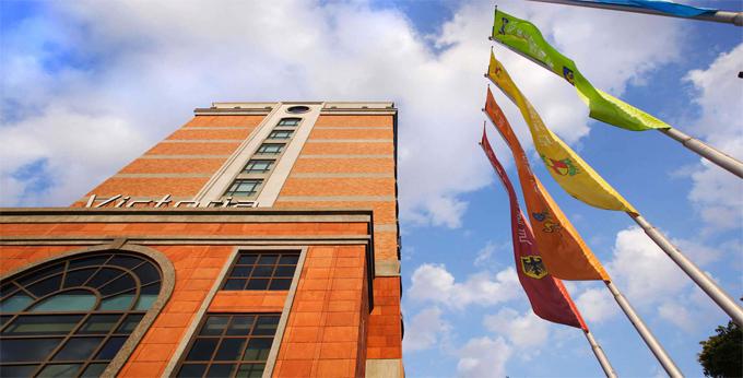台北维多丽亚酒店房间室内图、外观图