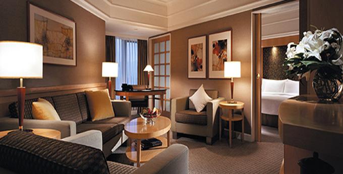 台北君悦大饭店房间室内图、外观图