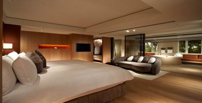 台北老爷大酒店房间室内图、外观图