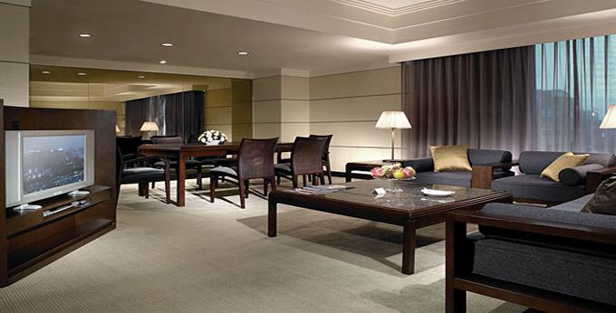 台北晶华酒店房间室内图、外观图