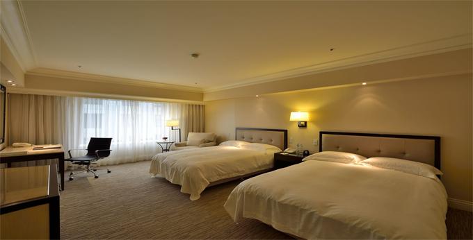 台北西华饭店房间室内图、外观图