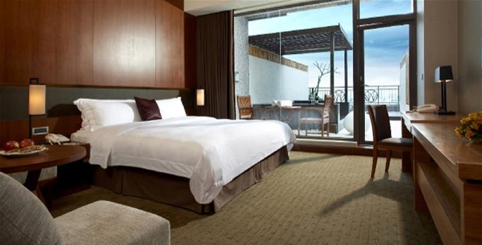宜兰兰城晶英酒店房间室内图、外观图