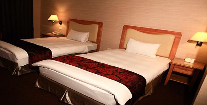 台中兆品酒店(台中店)房间室内图、外观图