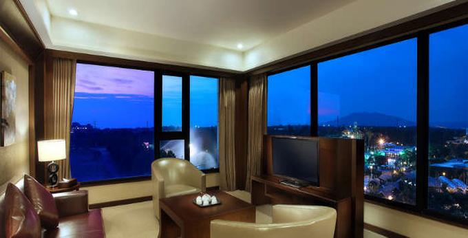 台中月眉福容大饭店房间室内图、外观图