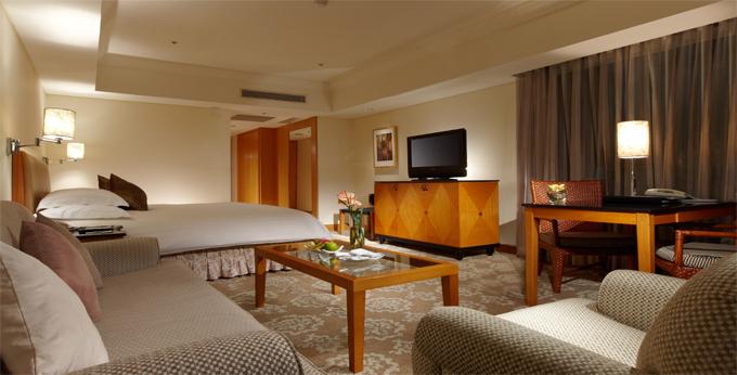 台中金典酒店房间室内图、外观图