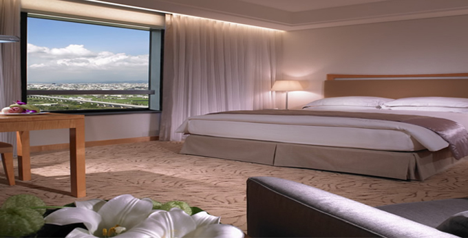 台中裕元花园酒店房间室内图、外观图