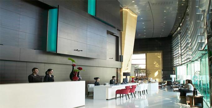 台中亚致大饭店房间室内图、外观图