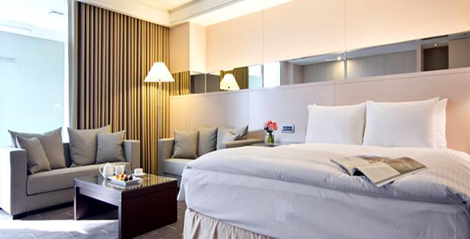 台中永丰栈酒店房间室内图、外观图