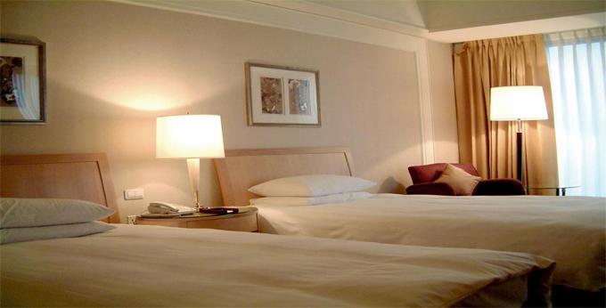 新北福朋喜来登饭店房间室内图、外观图