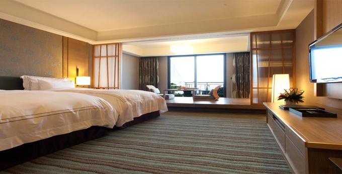 新北福容大饭店(淡水渔人码头店)房间室内图、外观图