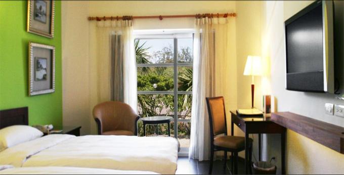垦丁夏都沙滩酒店房间室内图、外观图