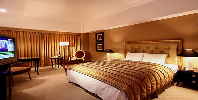 桃园古华花园饭店房间室内图、外观图