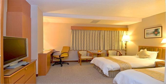 台北第一大饭店房间室内图、外观图