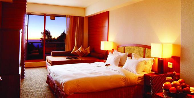 嘉义朝丽阿里山宾馆房间室内图、外观图