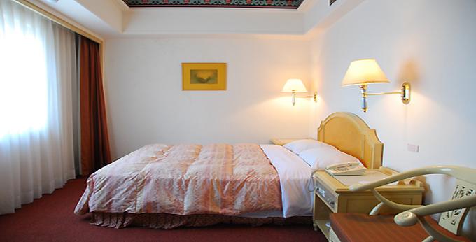 台北华华饭店房间室内图、外观图