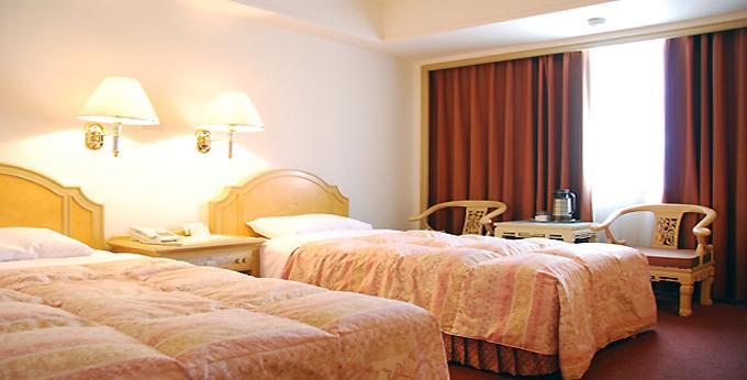 台北华华饭店(分馆) 房间室内图、外观图