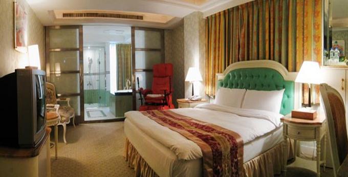 台北安和精品旅馆 房间室内图、外观图