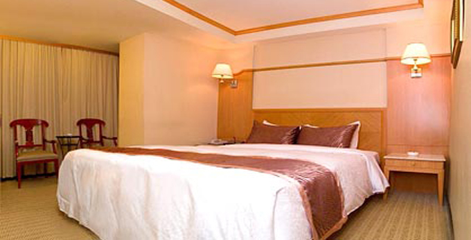 台北优美饭店房间室内图、外观图
