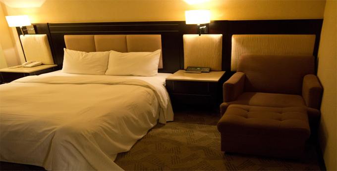 台北百利饭店房间室内图、外观图