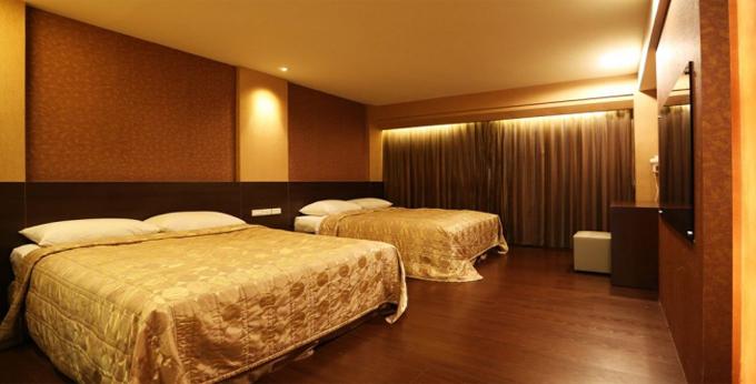 台北上宾大饭店房间室内图、外观图