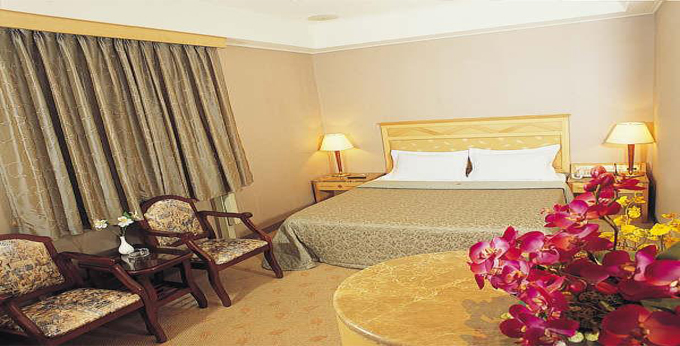 台北友莱大饭店房间室内图、外观图