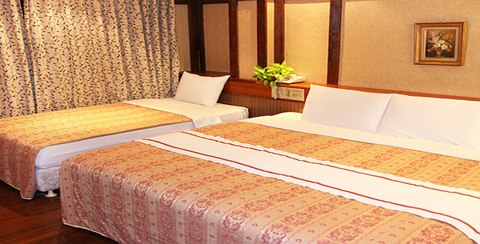 台北百花商务饭店房间室内图、外观图