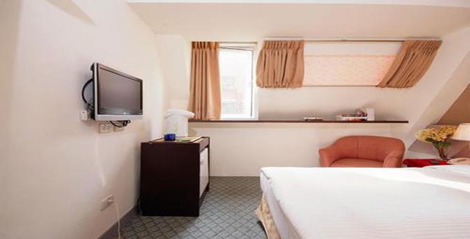 台北新仕界大饭店房间室内图、外观图