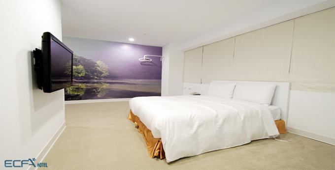 台北爱客发时尚旅馆 (万年馆)房间室内图、外观图