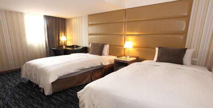 台北俪夏商旅房间室内图、外观图