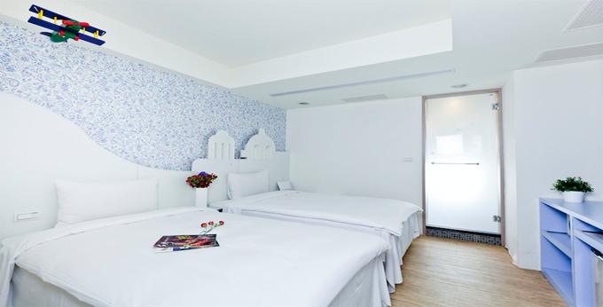 台北新乐町精致旅居房间室内图、外观图
