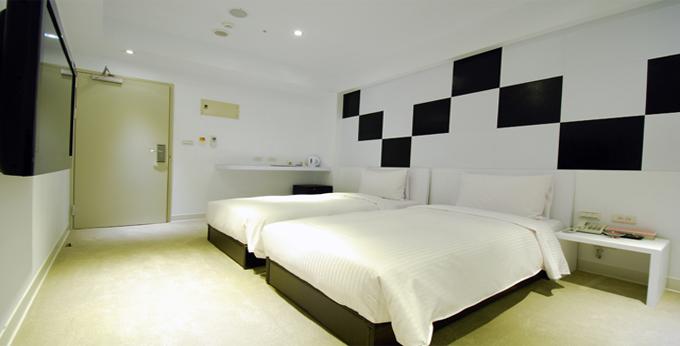 台北高丝旅时尚旅馆 (汉口馆)房间室内图、外观图