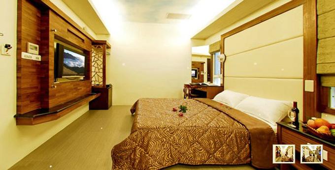 南投日月潭码头休闲大饭店房间室内图、外观图