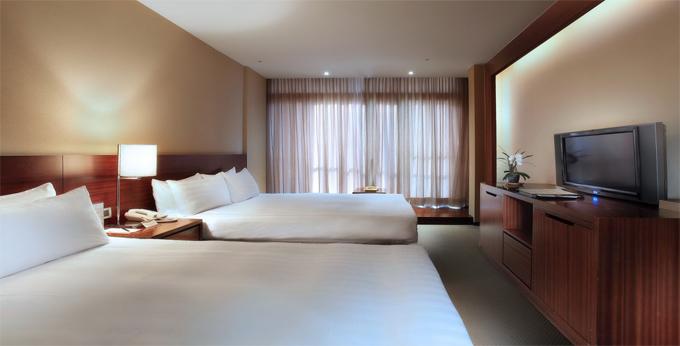 南投大涞阁大饭店房间室内图、外观图