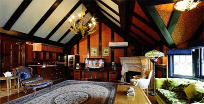 南投老英格兰庄园房间室内图、外观图