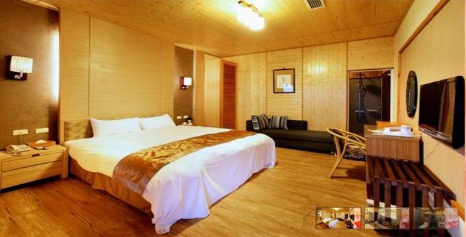 南投龙庄日式会馆房间室内图、外观图