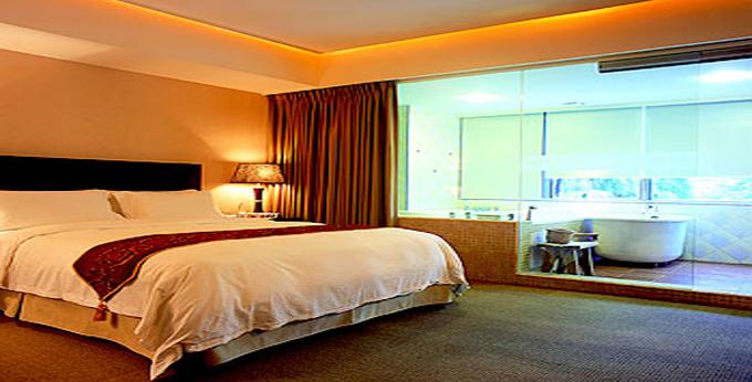 宜兰中冠礁溪大饭店房间室内图、外观图