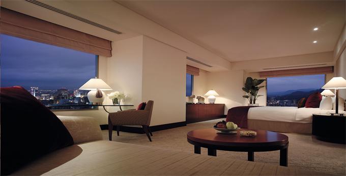 台北香格里拉台北远东国际大饭店房间室内图、外观图