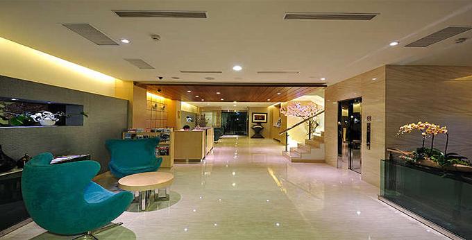 高雄汉华饭店房间室内图、外观图