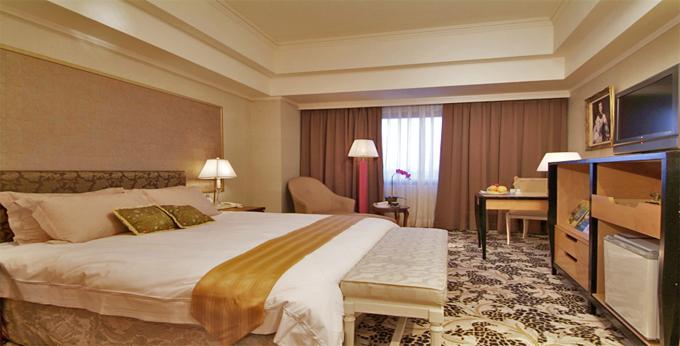 高雄丽尊酒店房间室内图、外观图