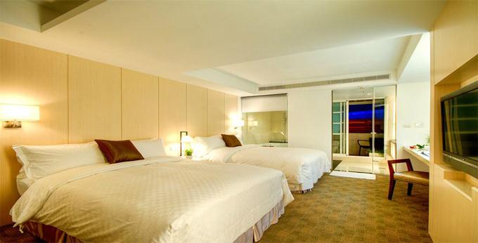 宜兰木道棉美学商旅房间室内图、外观图