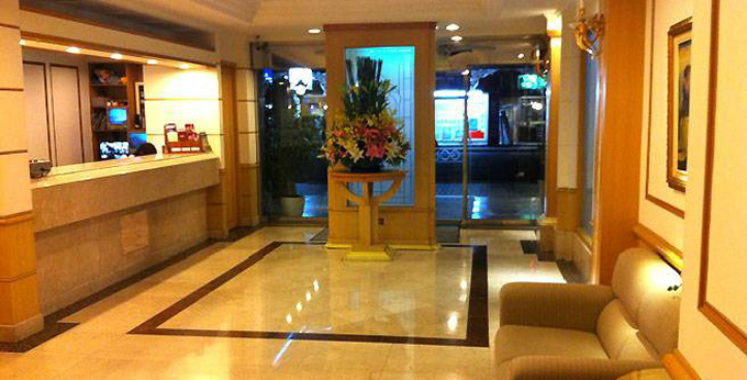 台北蒲园饭店房间室内图、外观图