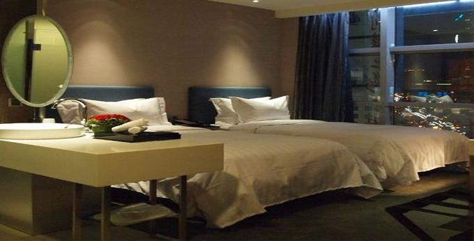 台北晶玺商旅房间室内图、外观图
