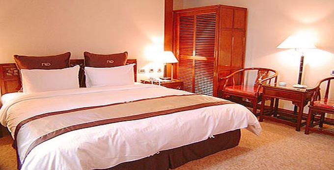 台北富园国际商务饭店房间室内图、外观图