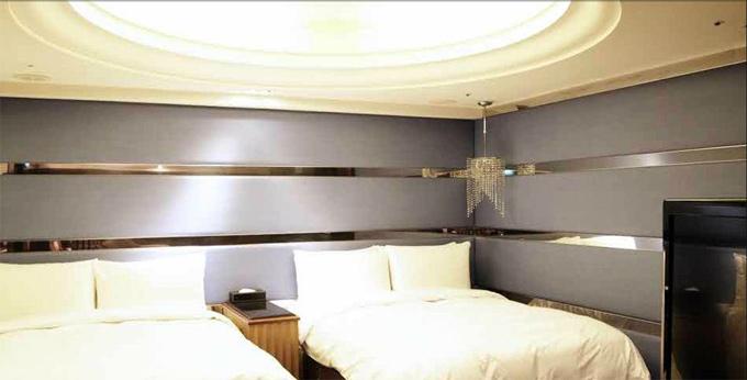 台北宝格利时尚旅馆房间室内图、外观图