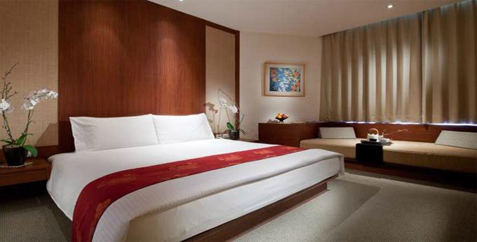 台北阳明山中国丽致大饭店房间室内图、外观图